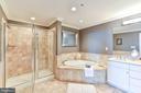 OWNER'S BATH-EN-SUITE - 4750 41ST ST NW #PH502, WASHINGTON
