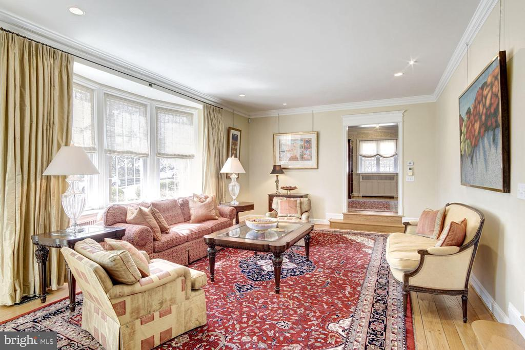 Living Room - 2825 MCGILL TER NW, WASHINGTON