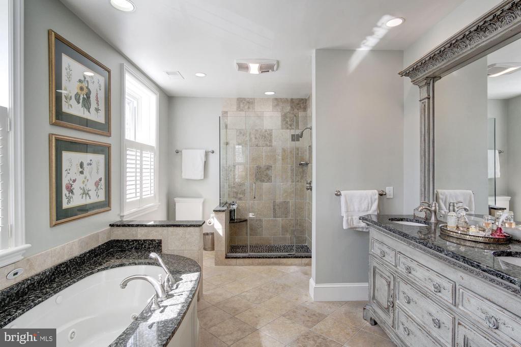 Master Suite 5 Piece Bath - 2825 MCGILL TER NW, WASHINGTON