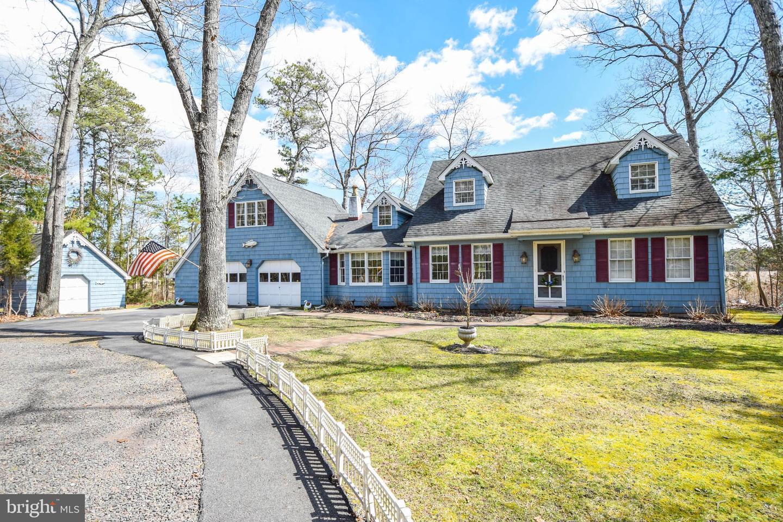 Частный односемейный дом для того Продажа на 144 N MAPLE Avenue Tuckerton, Нью-Джерси 08087 Соединенные Штаты
