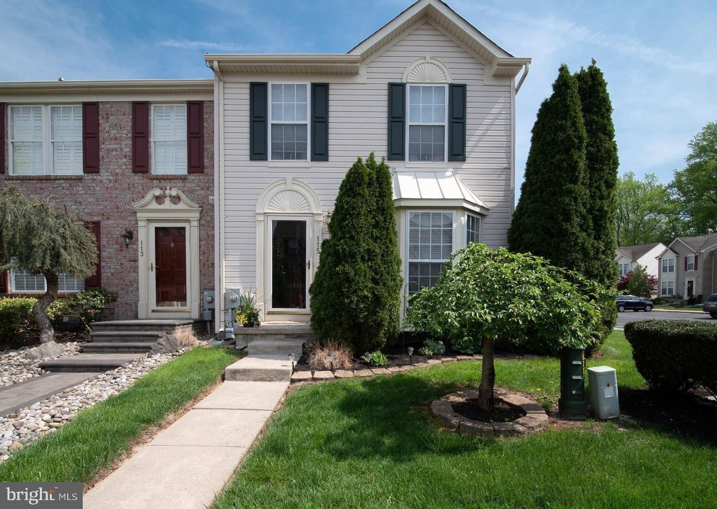 Photo of home for sale at 115 Cambridge Court, Deptford NJ