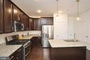 Gorgeous kitchen with granite, SS appl. - 1320 RIBBON LIMESTONE TER SE, LEESBURG