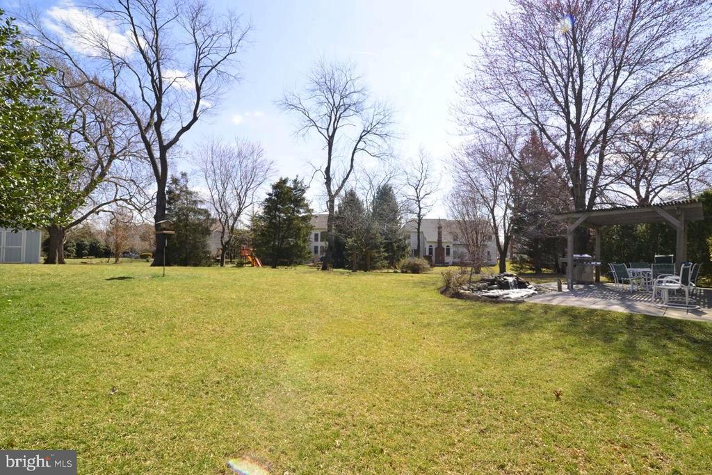 Expansive Backyard - 13366 POINT RIDER LN, HERNDON