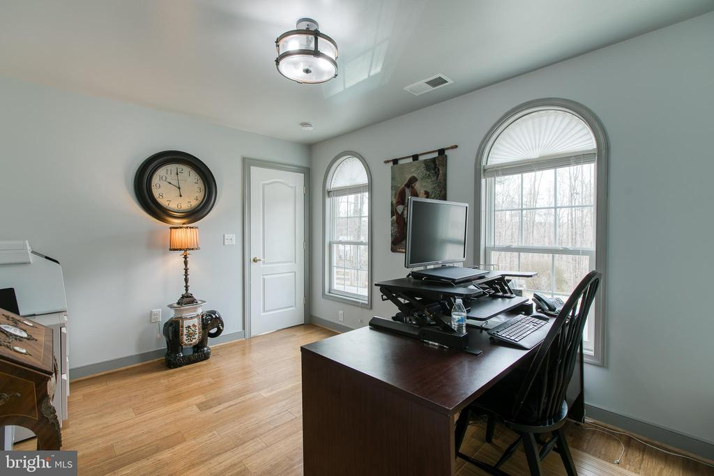 In home office with plenty of light - 40 KNOTSANCHOR LN, FREDERICKSBURG