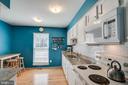 Light-filled kitchen - 5995 POWELLS LANDING RD, BURKE