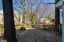 Large back yard - 5995 POWELLS LANDING RD, BURKE