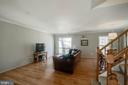 Beautiful hardwood floors - 5995 POWELLS LANDING RD, BURKE