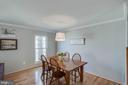 Plenty of room for dining table - 5995 POWELLS LANDING RD, BURKE