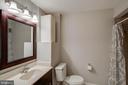 Full bath on lower level - 5995 POWELLS LANDING RD, BURKE