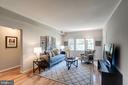 Living Room with Beautiful Hardwood Floors! - 1735 N TROY ST #8-415, ARLINGTON