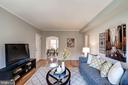 Living Room is Open, Light, Bright, & Airy! - 1735 N TROY ST #8-415, ARLINGTON