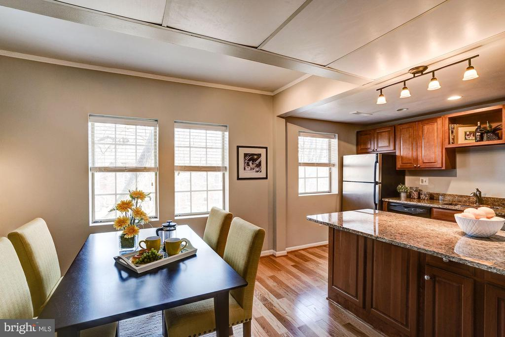 Dining Room and Kitchen - Electrical Upgraded! - 1735 N TROY ST #8-415, ARLINGTON