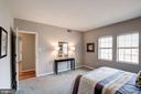 Master Bedroom - Large Windows, Great Sunlight! - 1735 N TROY ST #8-415, ARLINGTON