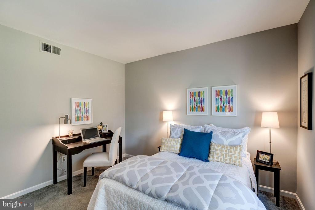 Bedroom #2 has Enough Space to be Multi-Functional - 1735 N TROY ST #8-415, ARLINGTON