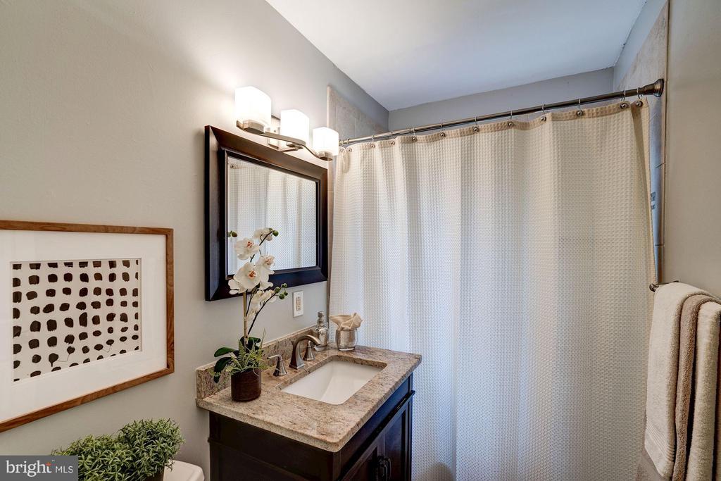 Bathroom Features New Vanity, Mirror, & Lighting! - 1735 N TROY ST #8-415, ARLINGTON