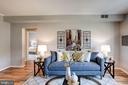 Living Room - 1735 N TROY ST #8-415, ARLINGTON