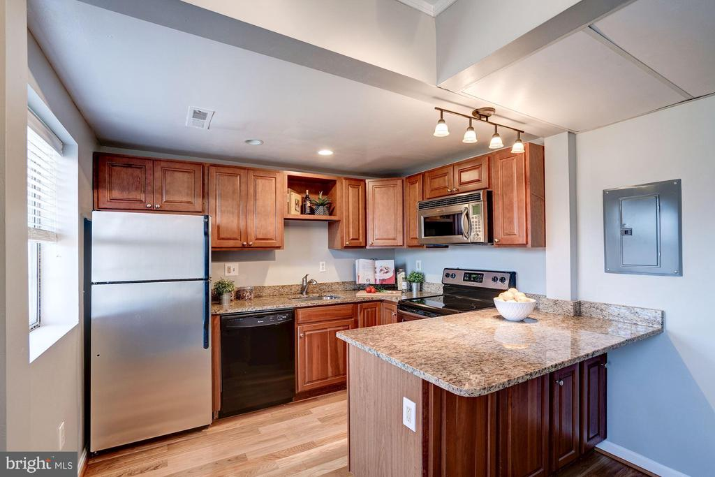 Kitchen COMPLETELY RENOVATED TOP-TO-BOTTOM! - 1735 N TROY ST #8-415, ARLINGTON