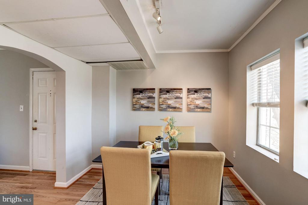 Separate Dining Area - Perfect for Entertaining! - 1735 N TROY ST #8-415, ARLINGTON