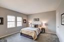 Master Bedroom Freshly Painted w/ Soft Gray Paint! - 1735 N TROY ST #8-415, ARLINGTON