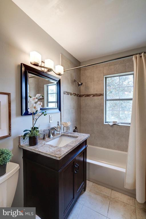 Bathroom Features New Tile Everywhere & New Toilet - 1735 N TROY ST #8-415, ARLINGTON