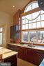 kitchen with great views of lake - 1466 WATERFRONT RD, RESTON