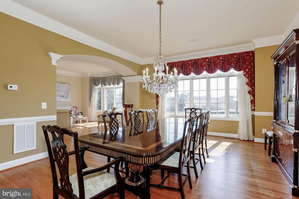 Formal Dining Room with Hardwood - 40471 GRENATA PRESERVE PL, LEESBURG