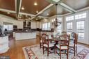 Huge Gourmet Kitchen with French Doors to Patio - 40471 GRENATA PRESERVE PL, LEESBURG