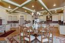 Breakfast Area with Coffered Ceilings - 40471 GRENATA PRESERVE PL, LEESBURG