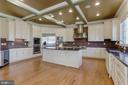 Kitchen with Granite Countertops - 40471 GRENATA PRESERVE PL, LEESBURG