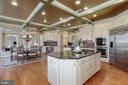 Gourmet Kitchen with SS Appliances - 40471 GRENATA PRESERVE PL, LEESBURG