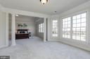 Master BR Sitting Room with Bay Window - 40471 GRENATA PRESERVE PL, LEESBURG
