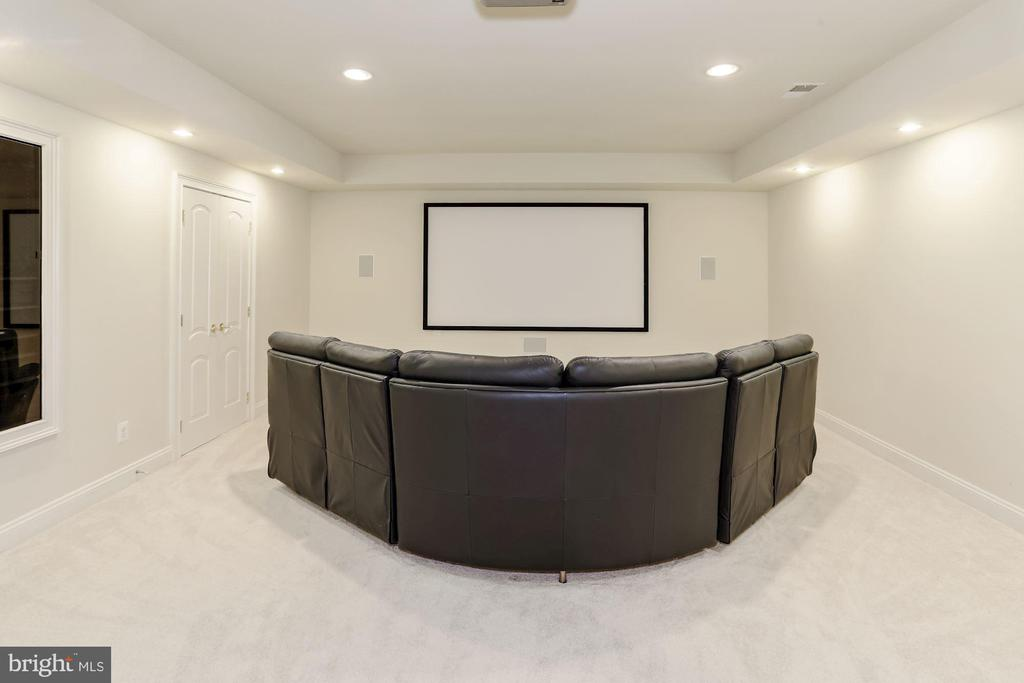Custom Theater Room - 40471 GRENATA PRESERVE PL, LEESBURG