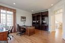 Study with transom window doorway - 40471 GRENATA PRESERVE PL, LEESBURG