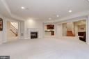 Spacious LL with 2 Way Fireplace - 40471 GRENATA PRESERVE PL, LEESBURG