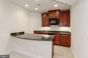 Custom LL Wetbar with Fridge/Ice Maker - 40471 GRENATA PRESERVE PL, LEESBURG