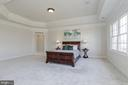 Master Bedroom with Built In Speakers - 40471 GRENATA PRESERVE PL, LEESBURG