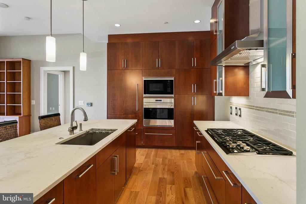 High end appliances and tons of cabinet space - 601 N FAIRFAX ST #211, ALEXANDRIA