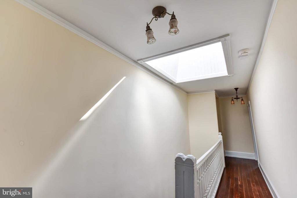 Upper Hallway with Skylight in Roof - 638 E CAPITOL ST NE, WASHINGTON