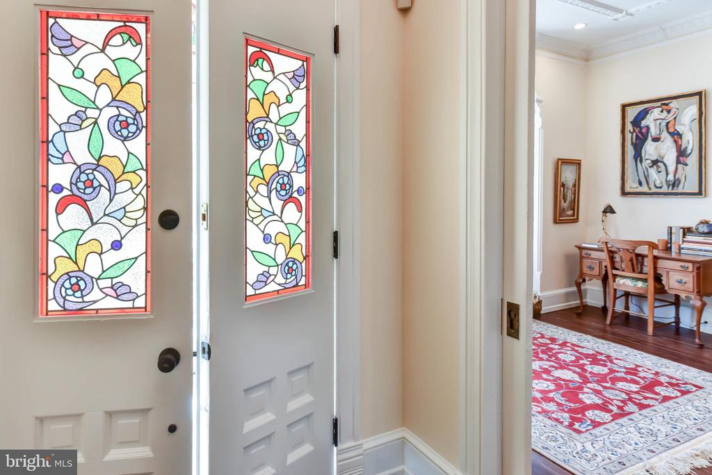 Stained glass vestibule doors - 638 E CAPITOL ST NE, WASHINGTON