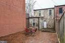 Patio, Carriage House at Rear - 638 E CAPITOL ST NE, WASHINGTON