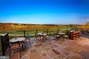Grille Room Terrace Overlooking the Course - 22501 CREIGHTON FARMS DR, LEESBURG
