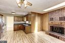 Family Room and Kitchen - 10279 GREYSTONE RD, MANASSAS