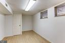 Basement office - 10279 GREYSTONE RD, MANASSAS