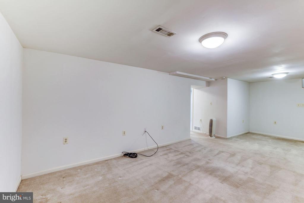 Basement Rec Room to Hall - 10279 GREYSTONE RD, MANASSAS