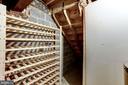 Many Bottle Wine Rack In utility Room - 10279 GREYSTONE RD, MANASSAS