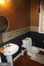 1st Powder room on main level - 43122 ROCKY RIDGE CT, LEESBURG