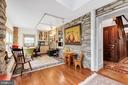 The stone pillars still remain - 13410 GOODHART LN, LEESBURG