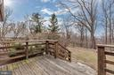 Wood deck - 13410 GOODHART LN, LEESBURG