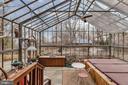 Louvered windows, slate floor - 13410 GOODHART LN, LEESBURG