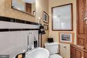 Charming main level half bath - 13410 GOODHART LN, LEESBURG